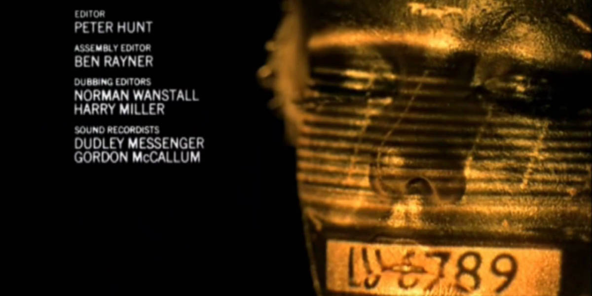 Goldfinger Title Sequence